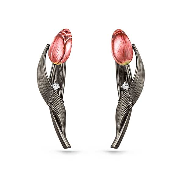 Kabarovsky Tulip earrings