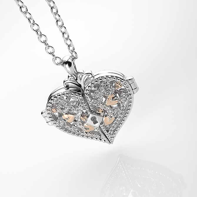 Clogau Kensington collection locket