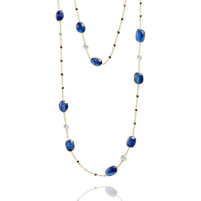 Lynn Mercein kyanite necklace