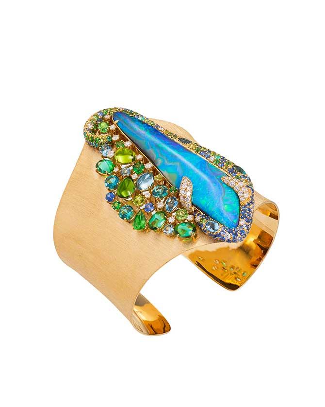 Margot McKinney opal cuff