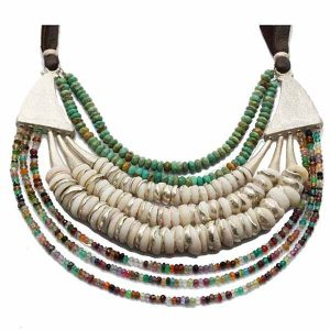 Vanessa Montiel puka necklace