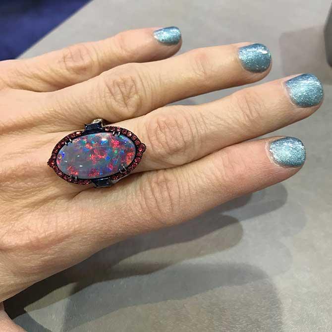 OMI opal ring
