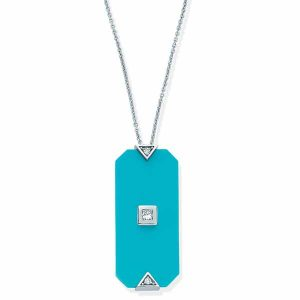 Melis Goral Deep Sea turquoise pendant