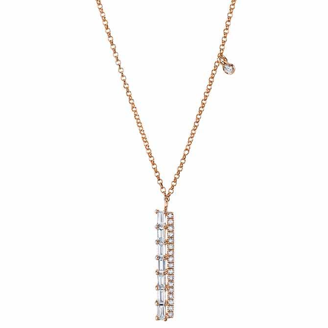 Mars Luxe diamond pendant