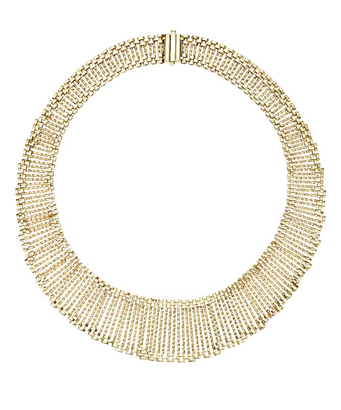 Phillip Gavriel gold necklace