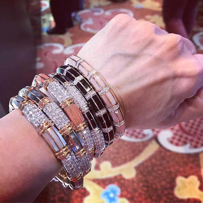 Picchiotti enamel bracelets
