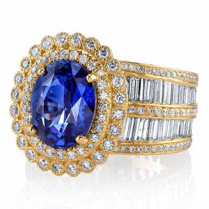 Erica Courtney Diana sapphire ring