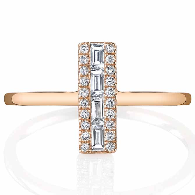 Mars Luxe diamond ring