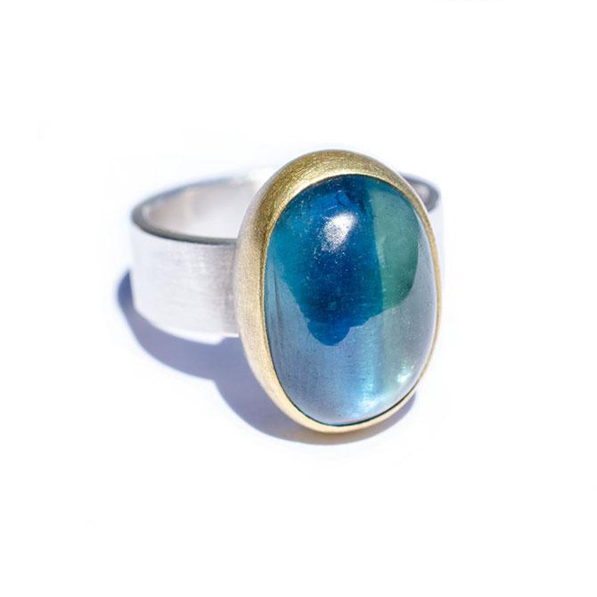 Sam Woehrmann kyanite ring