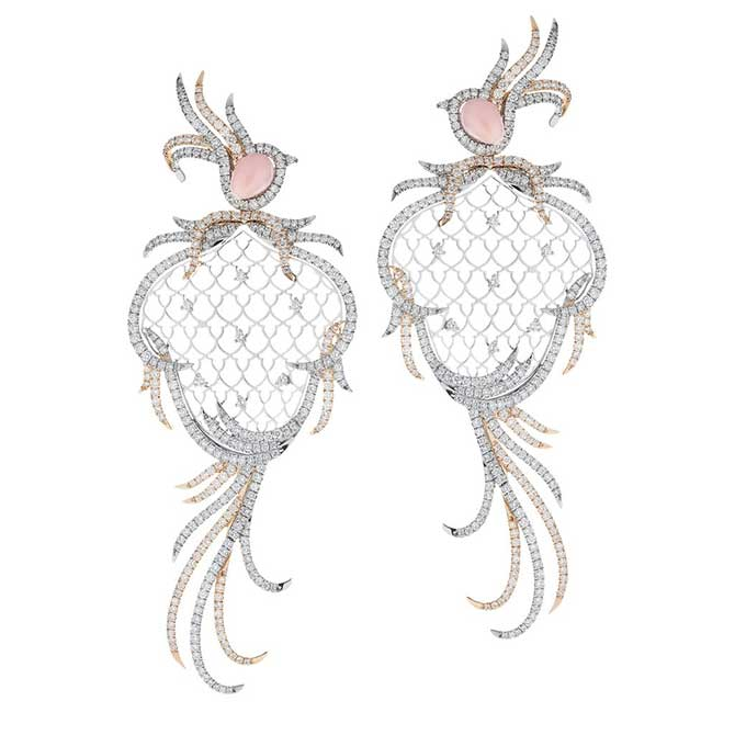 Sara Ho Paradis conch pearl earrings