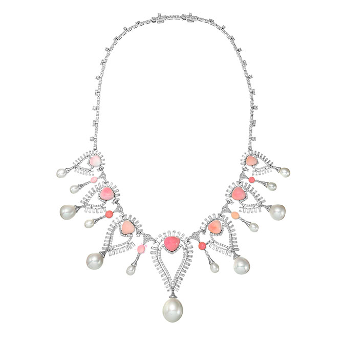 Sarah Ho Persica conch pearl necklace