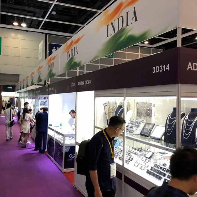 India Pavilion Hong Kong jewelry show