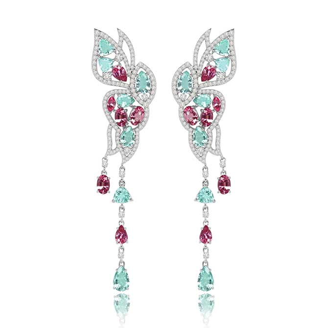 Sutra Butterfly earrings