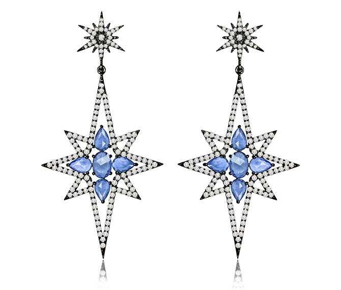 Sutra Starburst earrings
