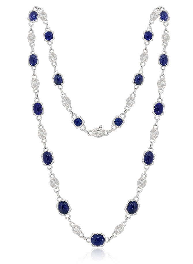 Sutra tanzanite necklace