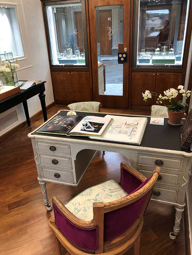 Temple St  Clair Boutique Opens in Italy - JCK