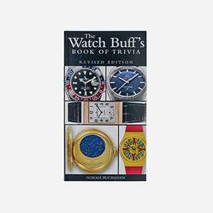 The Watch Buff's Book of Trivia by Norma Buchanan cover