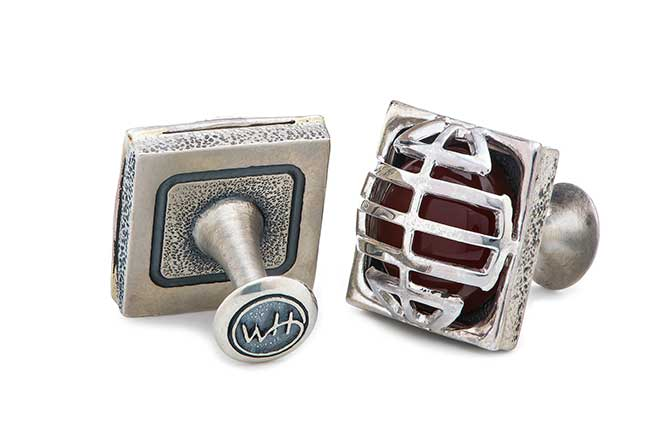 William Henry Mask cufflinks