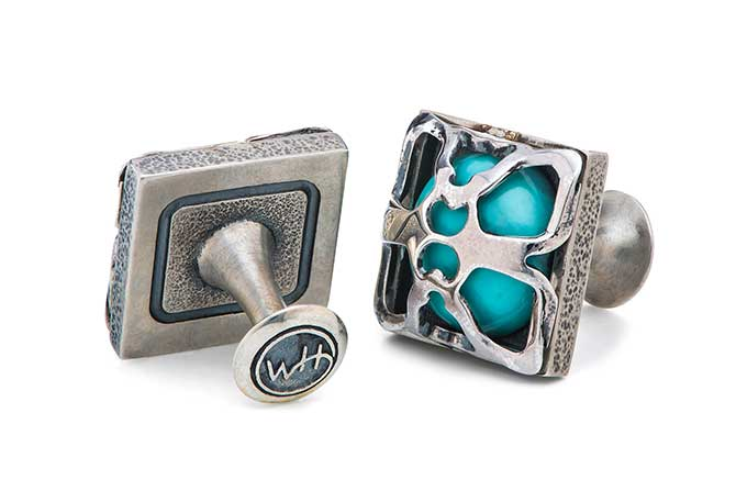 William Henry Ripple cufflinks