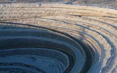 Alrosa diamond mine