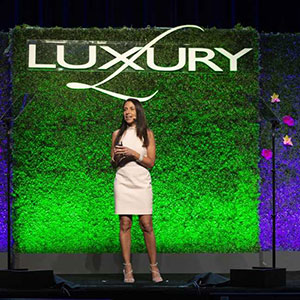 Sarin Bachmann at LUXURY