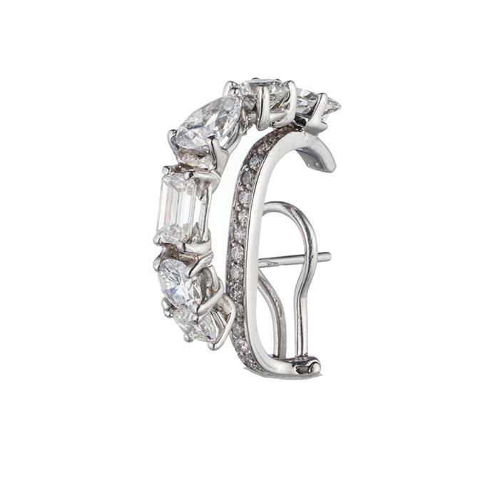 Ana Khouri Floating Diamond Earring