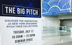Big Pitch sign at JANY 2018 Javits Center