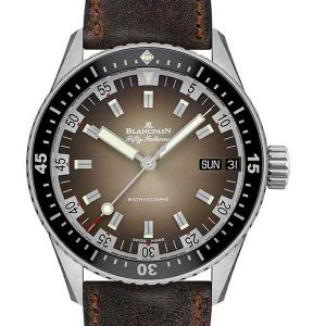 Blancpain Fifty Fathoms Bathyscaphe Day Date 70s wristwatch