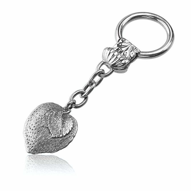 Buccellati silver key fob