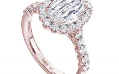 Christopher Designs rose gold engagement ring