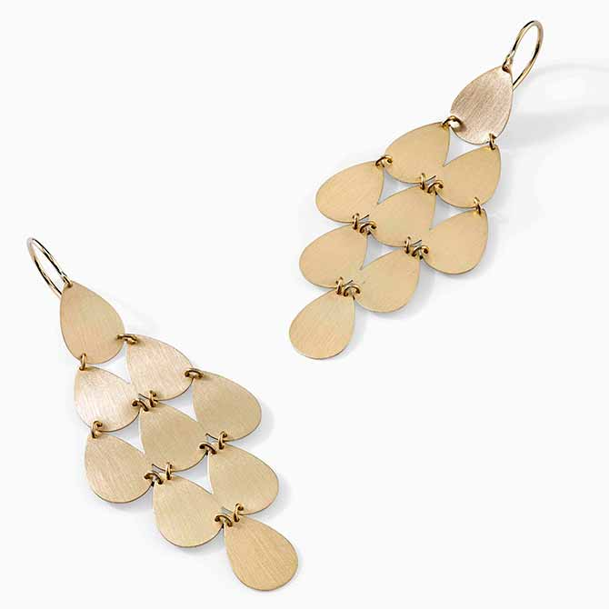 Irene Neuwirth chandelier earirngs