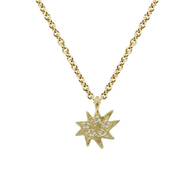 Emily Kuvin Mini Stella Necklace