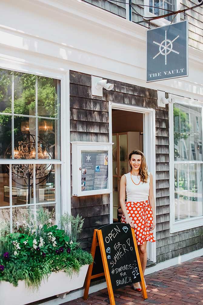 Exterior Vault Nantucket Katherine Jetter