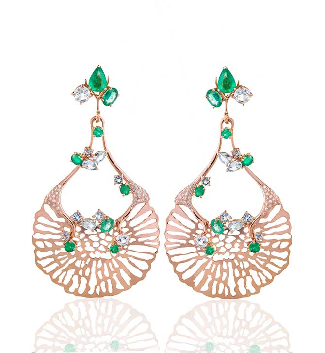 Federica Rettore Gemfields earrings