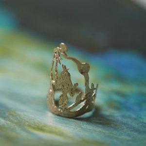 Ice Cream Candy mermaid ring