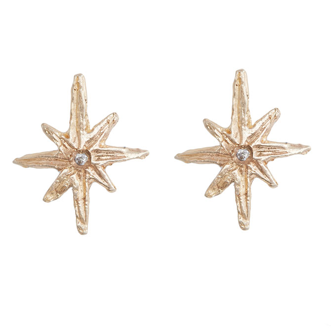 Ice Cream Candy North Star earrings