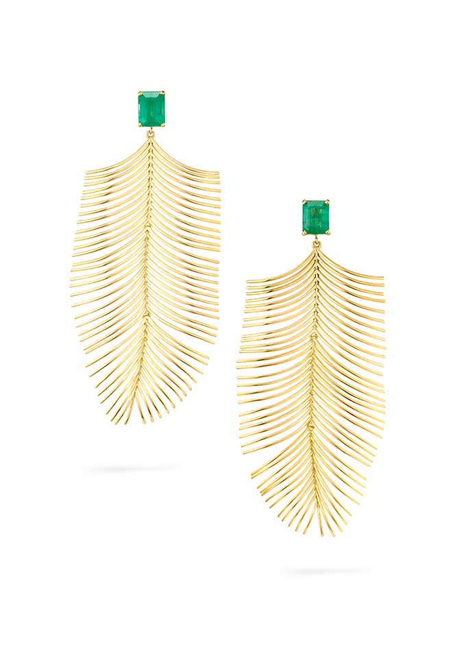 Julls Brasil Essere Gemfields earrings