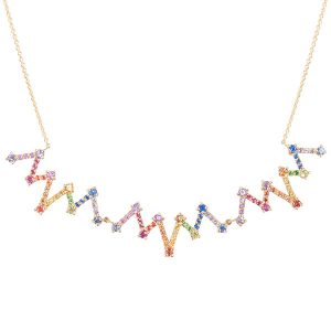 M Spalten Large Accordion necklace
