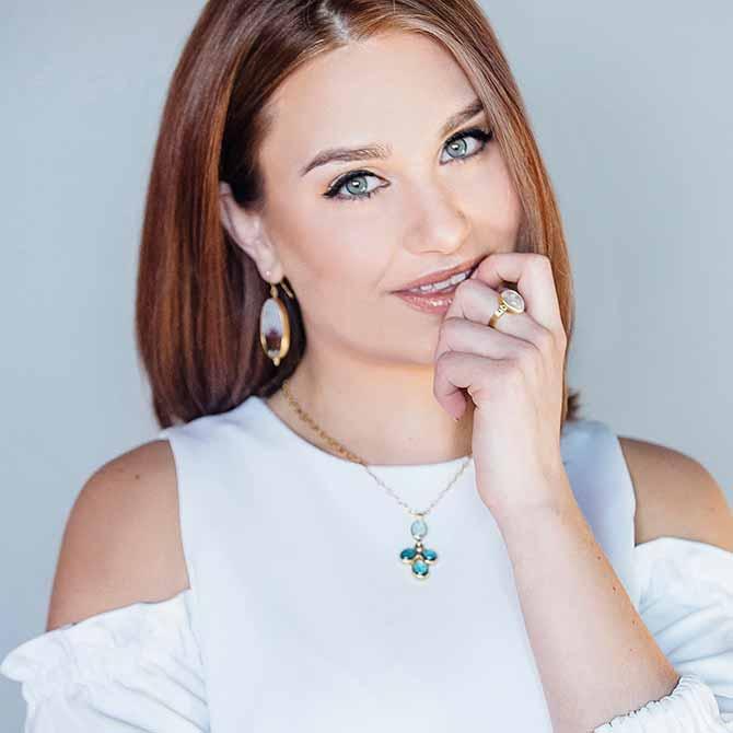 Leigh Maxwell lookbook shot