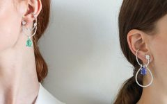 Models in Ana Khouri earrings
