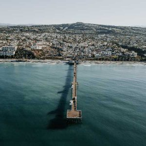 San Clemente Pier Beach Photo by Jessi Pena for Unsplash