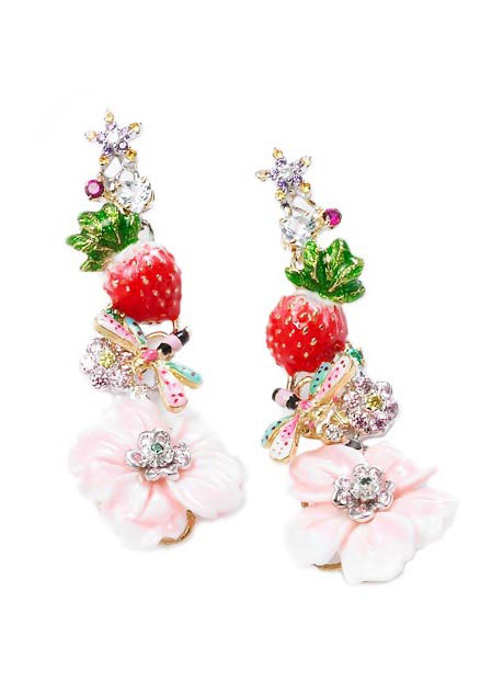 Santagostino Strawberry Frost earrings