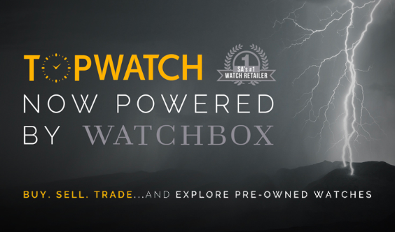 Topwatch Watchbox partnership