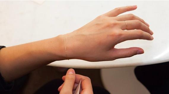 Catbird permanent bracelet