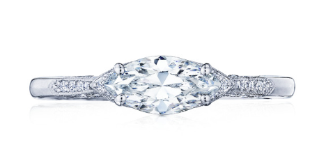 Tacori marquis east west ring