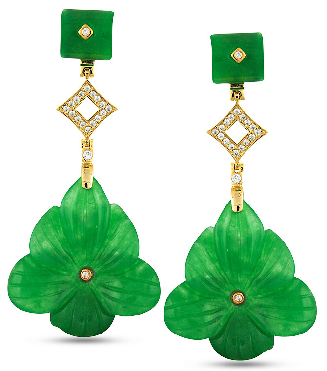 angelique de paris daffodil earrings