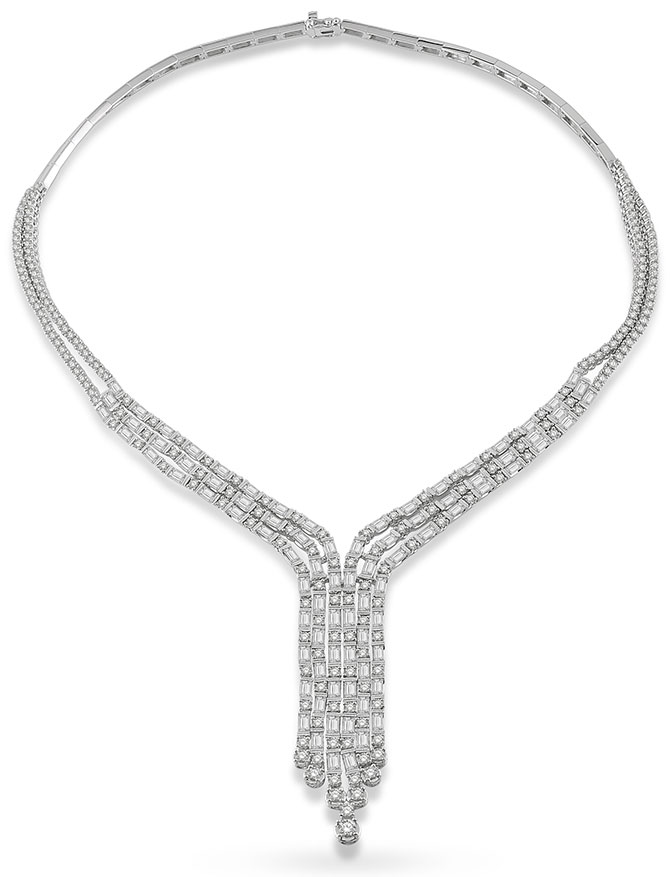 ashi diamonds astraea necklace