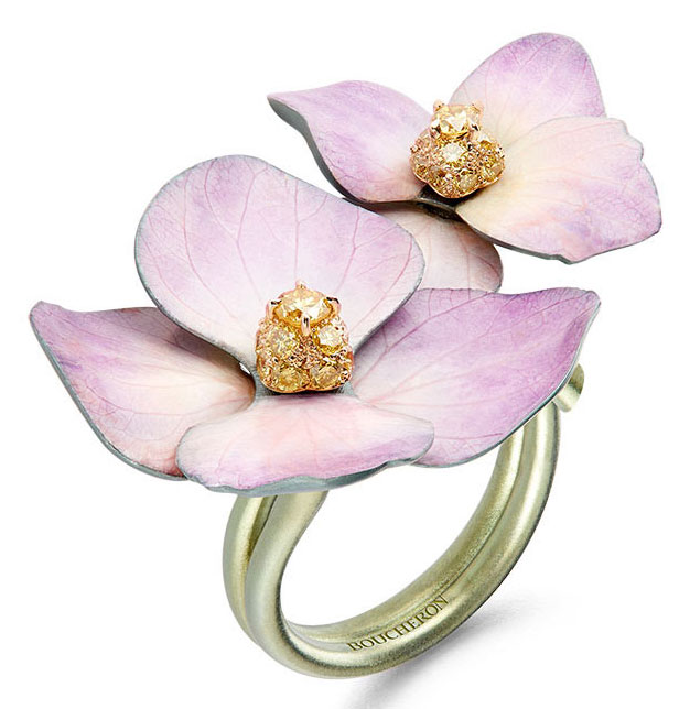 boucheron flower ring
