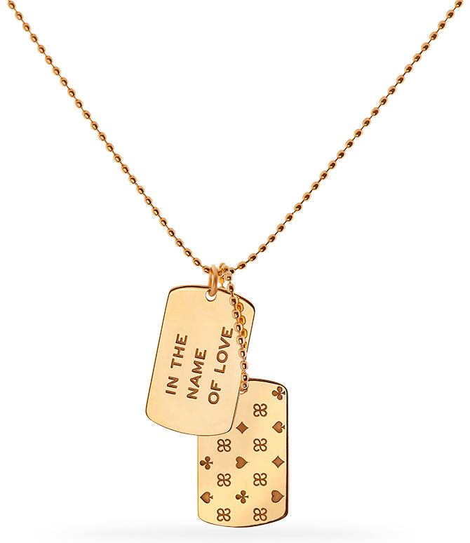 julie genet microvegas dog tag
