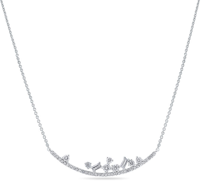 kc designs diamond mosaic necklace